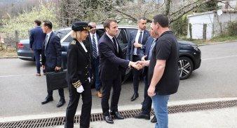 Macron en Corse